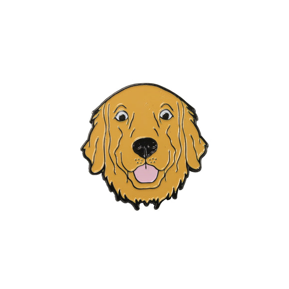 Golden Retriever Pin