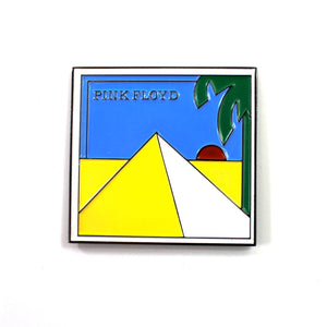 The Pink Floyd Pyramids Pin