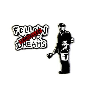 The Dreams Cancelled Pin Set