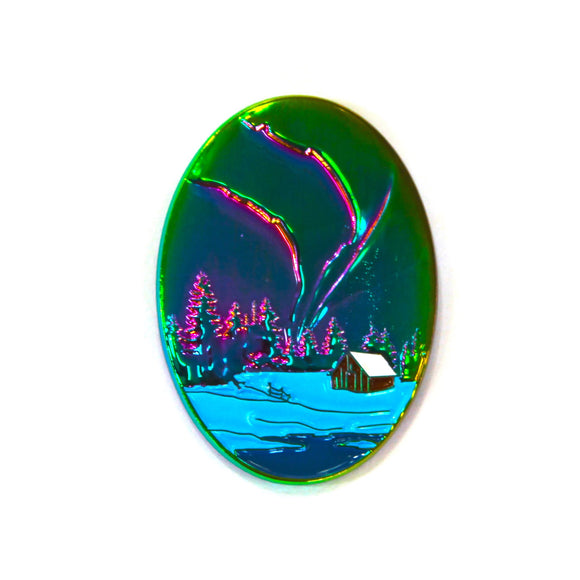 The Bob Ross Northern Lights Pin