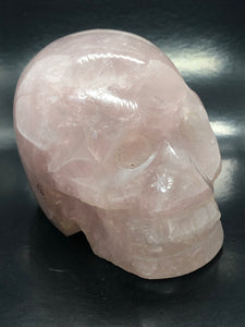 Rose Quartz Skull ~ ascension & light work (6)