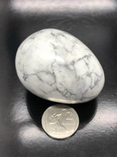 White Howlite Egg (medium) ~ peace & calm (#3)