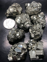 Pyrite Clusters (Small) ~  Abundance, truth, confidence, focus, creativity & potential