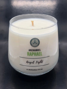 Archangel Raphael Candle ~ for abundance and healing
