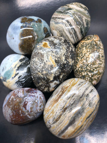 Ocean jasper | Atlantis Stone Palmstones ~ Raising Vibration, preparing or the new Golden Age