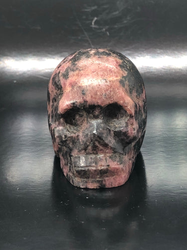 Rhodonite Skull ~ ascension & light work (1)