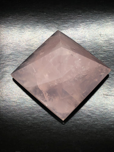 Rose Quartz Pyramid ~ Unconditional love, kindness, compassion, support & forgiveness (2)