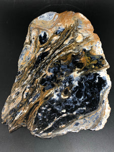 Pietersite slice ~ channeling, transformation, awakening, alchemy & magic