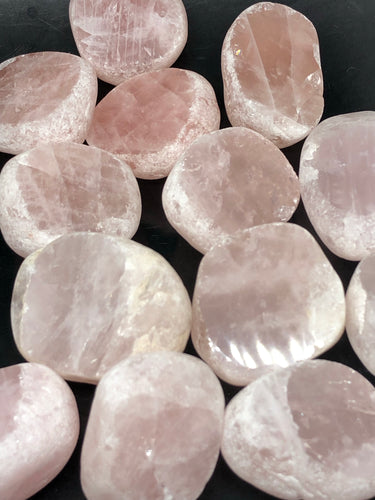 Rose Quartz Seer Stones | Prophets ~ a window to your world, offering perspective, support & guidance