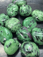 Ruby Zoisite Tumbles ~ spiritual awakening, heart & mind harmony & transmutes lower level energies
