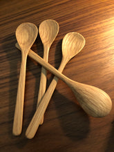 Wooden spoon ~ use with salt bowls