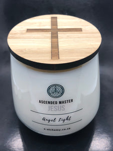 Jesus Candle ~ Christ consciousness and unconditional love & forgiveness