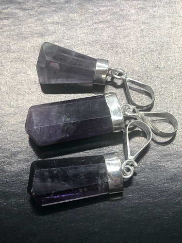 Amethyst Pendants ~ divine connection, boundaries, healing and calming