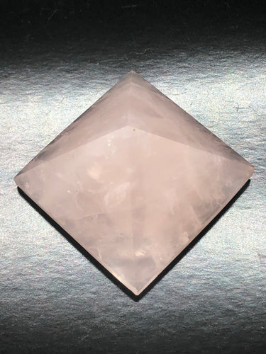 Rose Quartz Pyramid ~ Unconditional love, kindness, compassion, support & forgiveness (5)