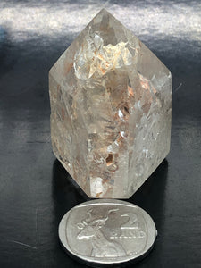 Clear Quartz Brandberg Point (window) ~ High vibration, spiritual alchemy, soul healing & ascension (3)