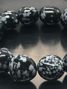 Snowflake obsidian ~ opportunities, balance & removes negative energies