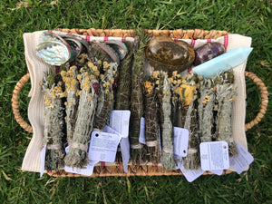 Mother Mary Smudge Sticks ~ Purifying space, welcoming in deep peace