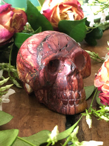 Mookaite Skull (medium) ~ ascension & light work