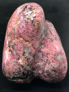 Rhodonite, self standing freeform ~ love, happiness, self worth & relationships (6)