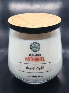 Archangel Nathaniel Candle ~ for transformation & transition