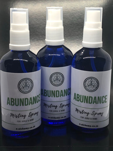 Abundance Misting spray ~ Harmony, calm, peace, cleansing & purity