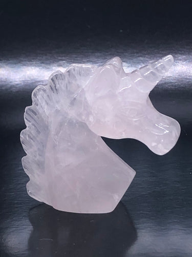 Rose Quartz Unicorn ~ Unconditional love, kindness, compassion, support & forgiveness (3)
