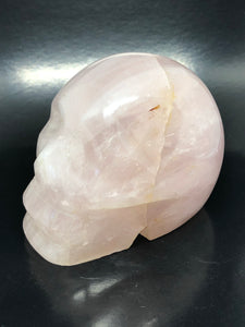 Rose Quartz Skull ~ ascension & light work (9)