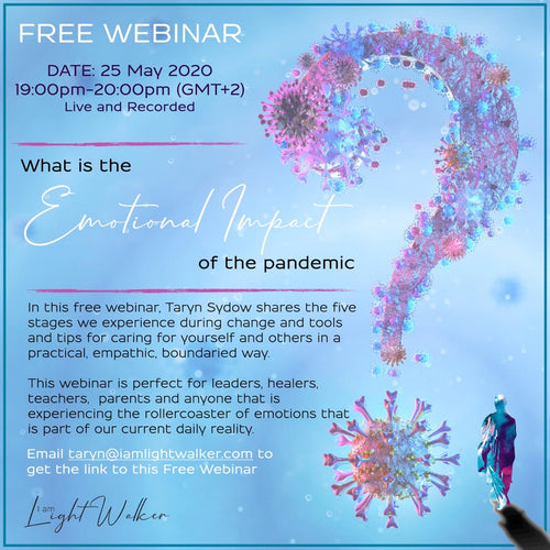 What is the emotional impact of the pandemic? FREE WEBINAR, 25 May