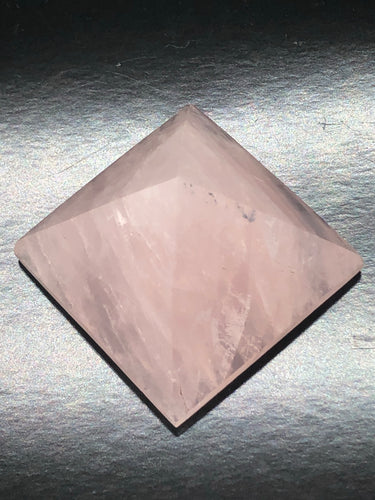 Rose Quartz Pyramid ~ Unconditional love, kindness, compassion, support & forgiveness (4)