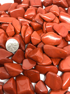 Red jasper crystals ~ courage, protection and strength