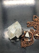 Herkimer Diamond Necklace ~ attunement stone, psychic abilities, guidance, past life recall, soul retrieval & purpose & breaking patterns (#2)