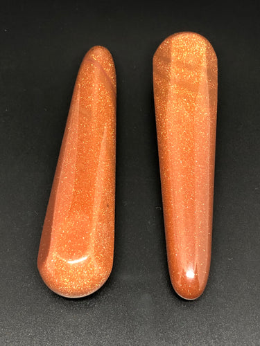 Gold sunstone wands ~ abundance, leadership & creativity