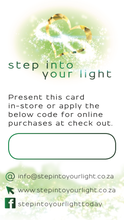 Gift Card ~ you specify the value