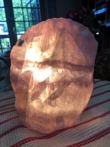Fluorite Lamp (#16) ~ mental achievements, expanded consciousness & heart healing