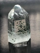 Clear Quartz Point with flower like inclusions (small) (UC10)