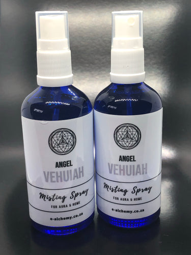 Misting spray ~ Archangel Vehuiah (new beginnings, innovation and heals depression)