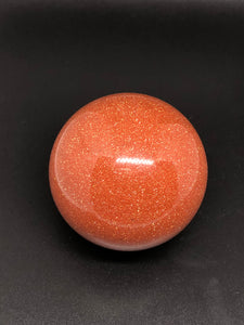 Gold sunstone medium sphere ~ abundance, leadership & creativity