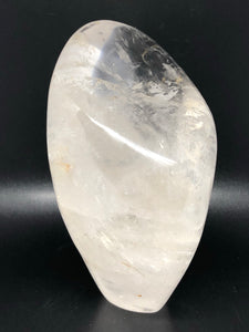 Clear quartz, self standing freeform ~ Power, clarity, amplification, connection, truth & perspective (3)
