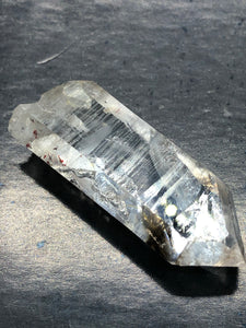 Lemurian Clear Quartz Brandberg Point (time link) ~ High vibration, spiritual alchemy, soul healing & ascension (12)