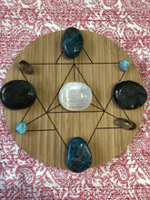 Bamboo Crystal grid, 30cm ~ Merkaba (spiritual ascension and manifestation)