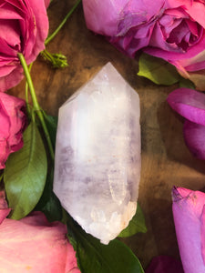 Brandberg Quartz ~ High vibration, spiritual alchemy, soul healing & ascension (#1)