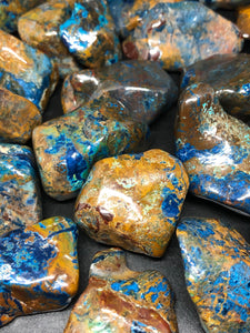 Shattuckite Tumbles ~ truth, channeling, past life vows & high vibration stone