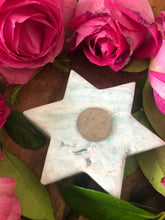Caribbean Calcite Star ~ earthy, watery, connected, grounding, stabilising (#7)