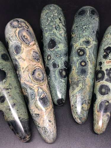 Stromatolite | Kambaba Jasper Massage Wand ~ transformation, emotional healing, past life recall & purpose