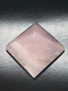 Rose Quartz Pyramid ~ Unconditional love, kindness, compassion, support & forgiveness (3)
