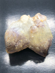 Japanese Twin, Record Keeper (Amethyst & Yellow Oxide) ~ includes a recorded READING (10A)