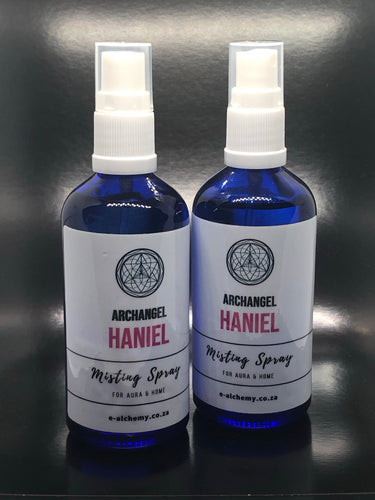 Misting spray ~ Archangel Haniel (purpose, intuition and wisdom)