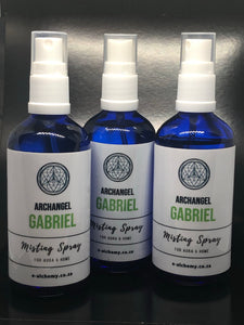 Misting spray ~ Archangel Gabriel (divine love, wisdom, guidance, protection & communication)