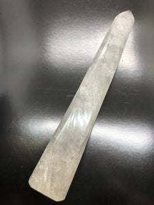 Clear Quartz Wand ~  Power, clarity, amplification, connection, truth & perspective (UC10)