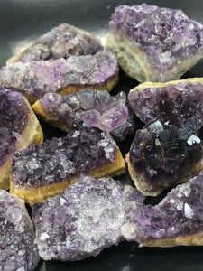 Amethyst Plates ~ divine connection, boundaries, healing and calming